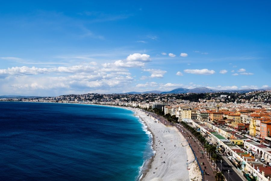Wading in the waters of the French Riviera is an amazing thing to do in France