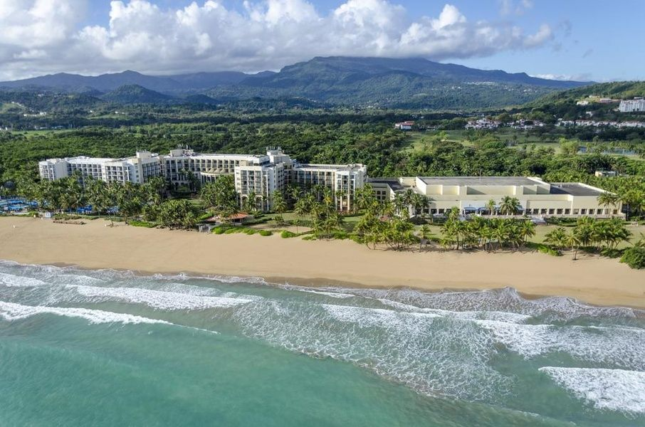 Resort Wyndham Grand Rio Mar Puerto Rico Golf & Beach Resort is a great Puerto Rico family resort that combines golf and beachside relaxation