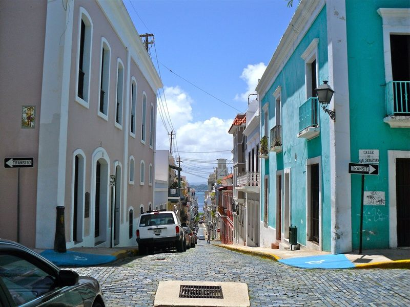 Old San Juan is one of the Best Places to Stay in San Juan Puerto Rico