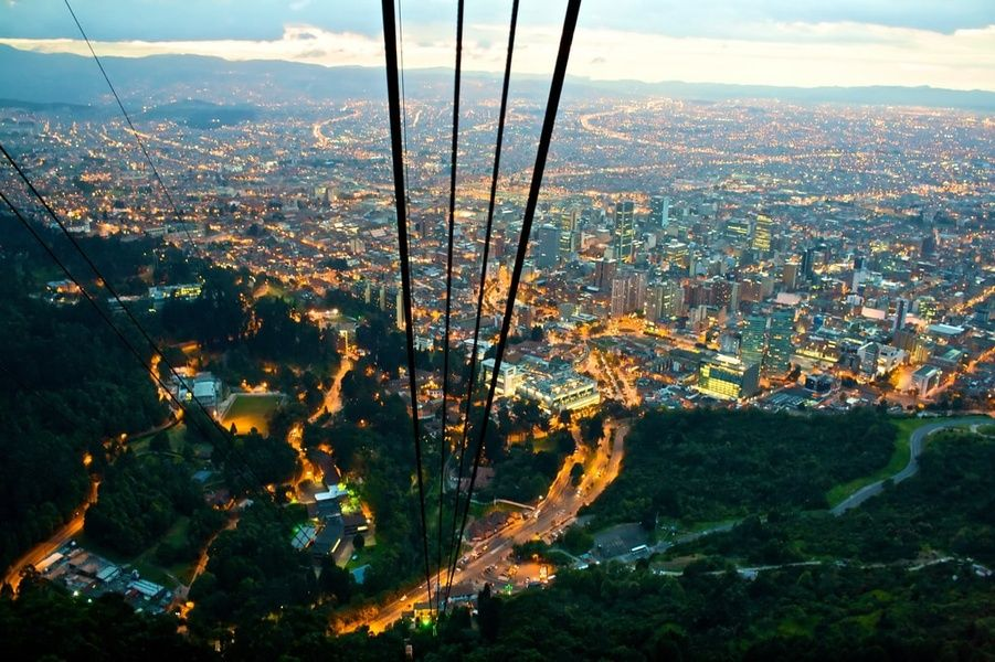 Bogota cablecars Colombia