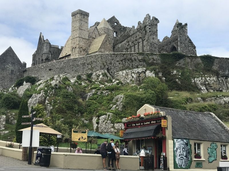 Visiting the Rock of Cashel is a must do in Ireland