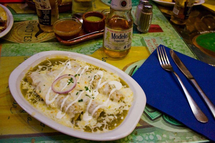 Enchiladas Where to Eat in Mexico City