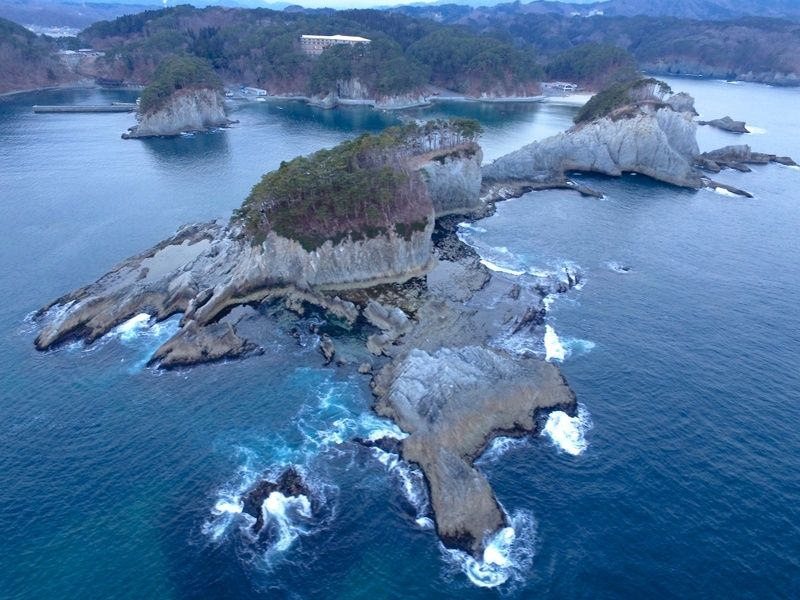 Jodogahama is one of the best places to visit in Japan