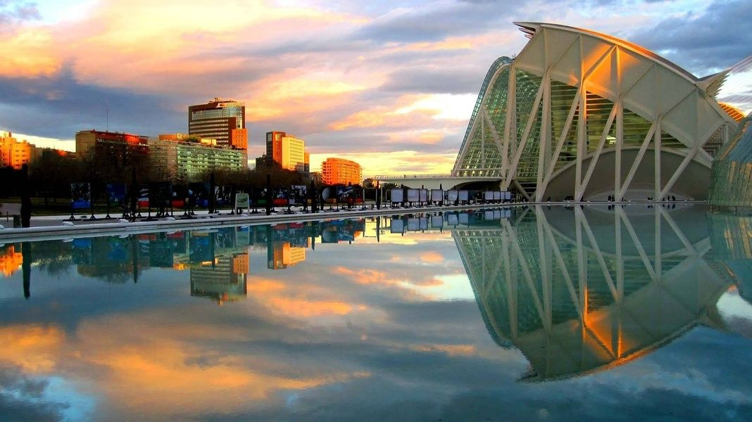 Valencia is where you should stay in Spain if you're looking for an exciting mix of traditional foods and futuristic architecture