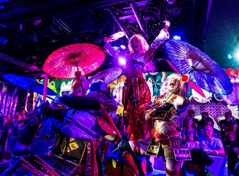 The Robot Restaurant is one of the coolest Tokyo attractions
