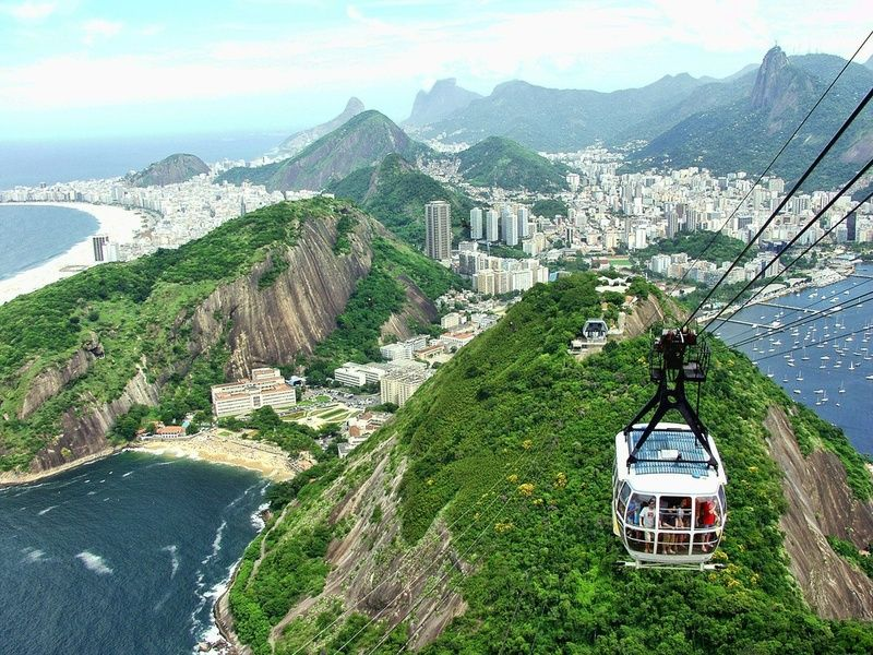 Sugarloaf Mountain is one of the top places to visit in Rio de Janeiro