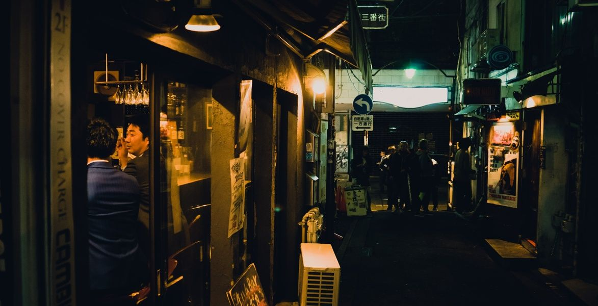 Checking out Golden Gai is an awesome point of interest in Tokyo