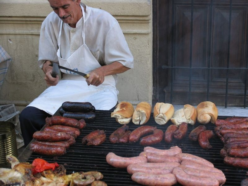 Tasting choripan is one of the best things to do in Buenos Aires