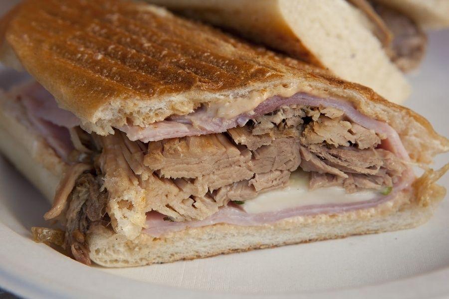 Cuba food Cuban sandwich