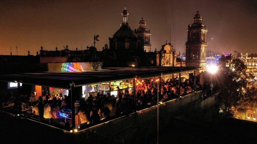 Lively Terraza Catedral offers wonderful views