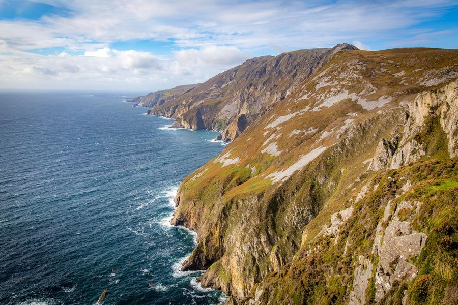 Climbing the Slieve League cliffs is an incredible thing to do in Donegal