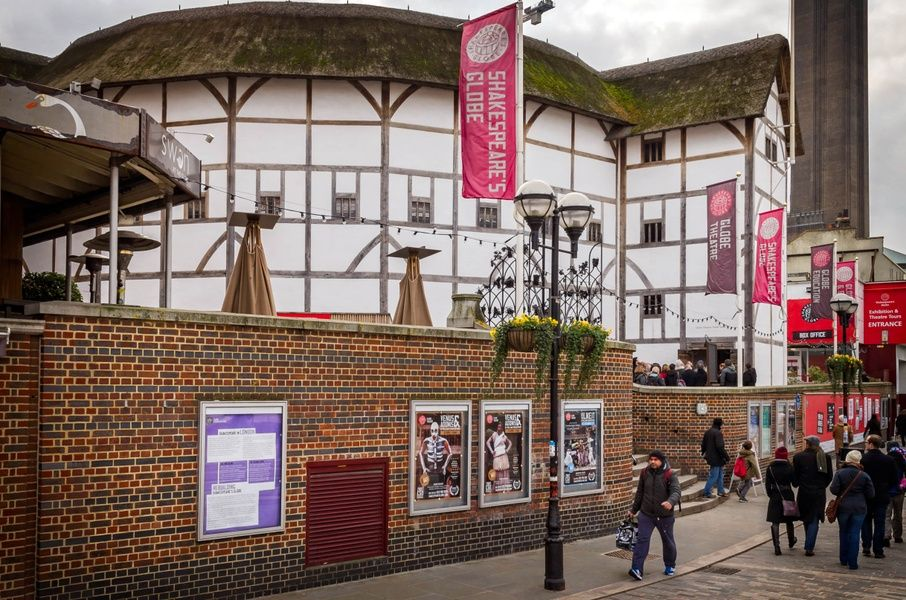 The iconic Globe Theatre is an awesome place to visit in London