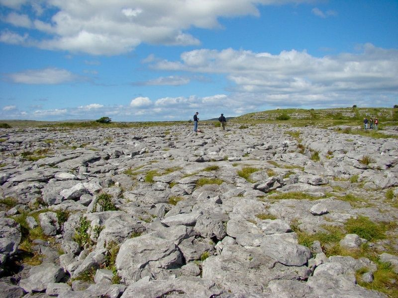 Burren National Park is a gorgeous place to visit in Ireland