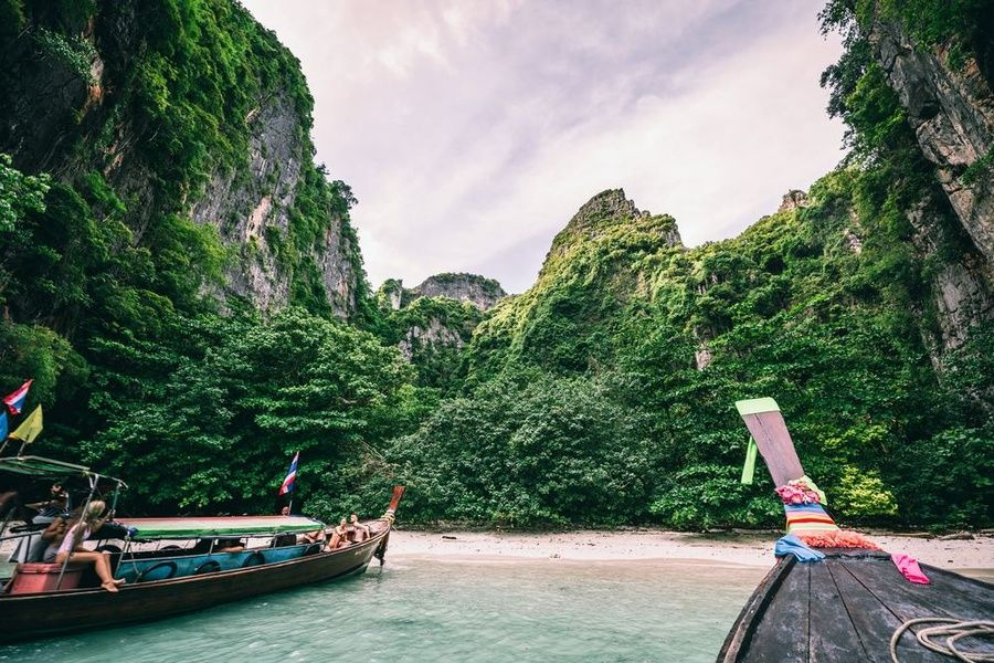 The Phi Phi Islands are one of the best places to visit in Thailand
