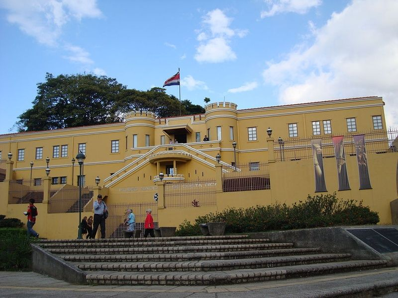 The Museo Nacional de Costa Rica is one of the best places to visit in Costa Rica