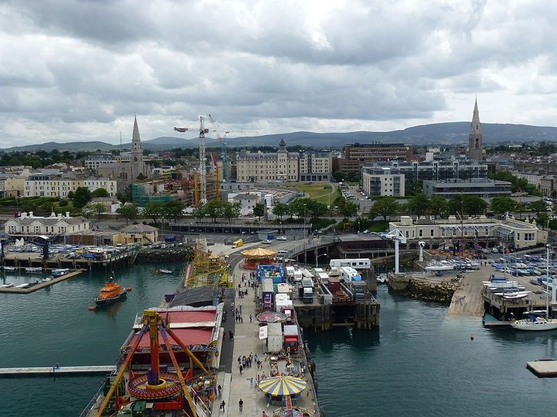 Dún Laoghaire is one of the best towns to visit in Ireland