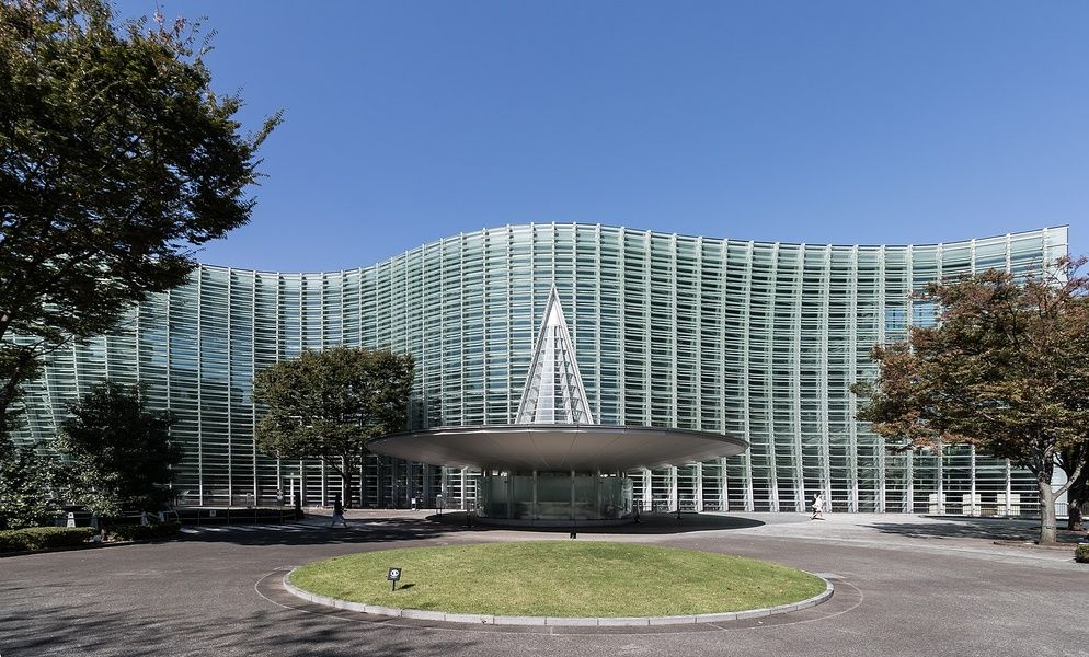 The awesome architecture and art at the National Art Center make it a favorite attraction for TripAdvisor Japan