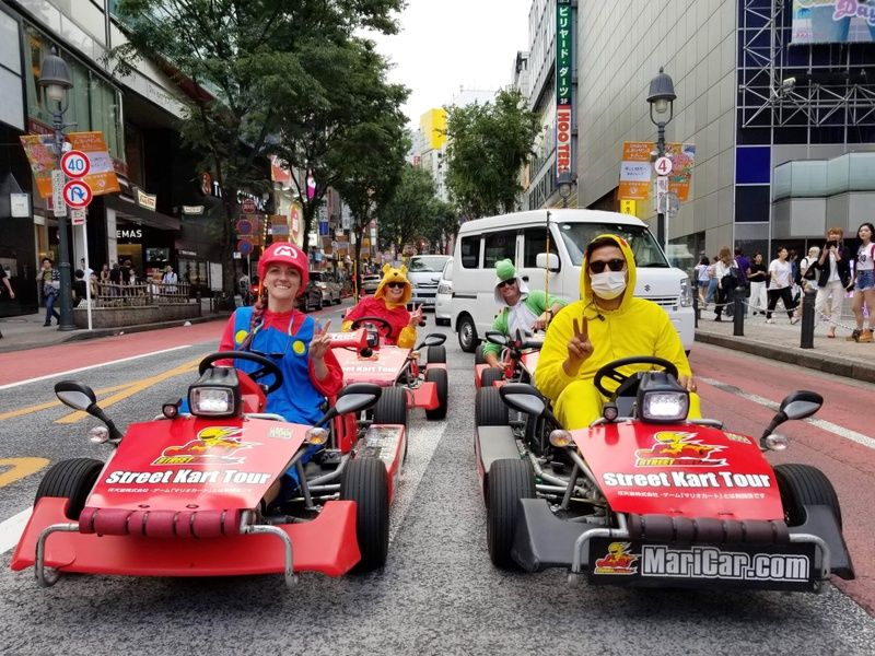 MariCar is an awesome thing to do if you only have 3 days in Tokyo