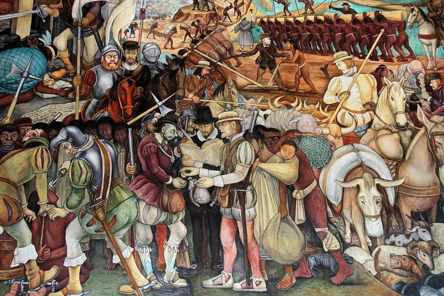 Diego Rivera murals in Mexico City are a TripAdvisor favorite