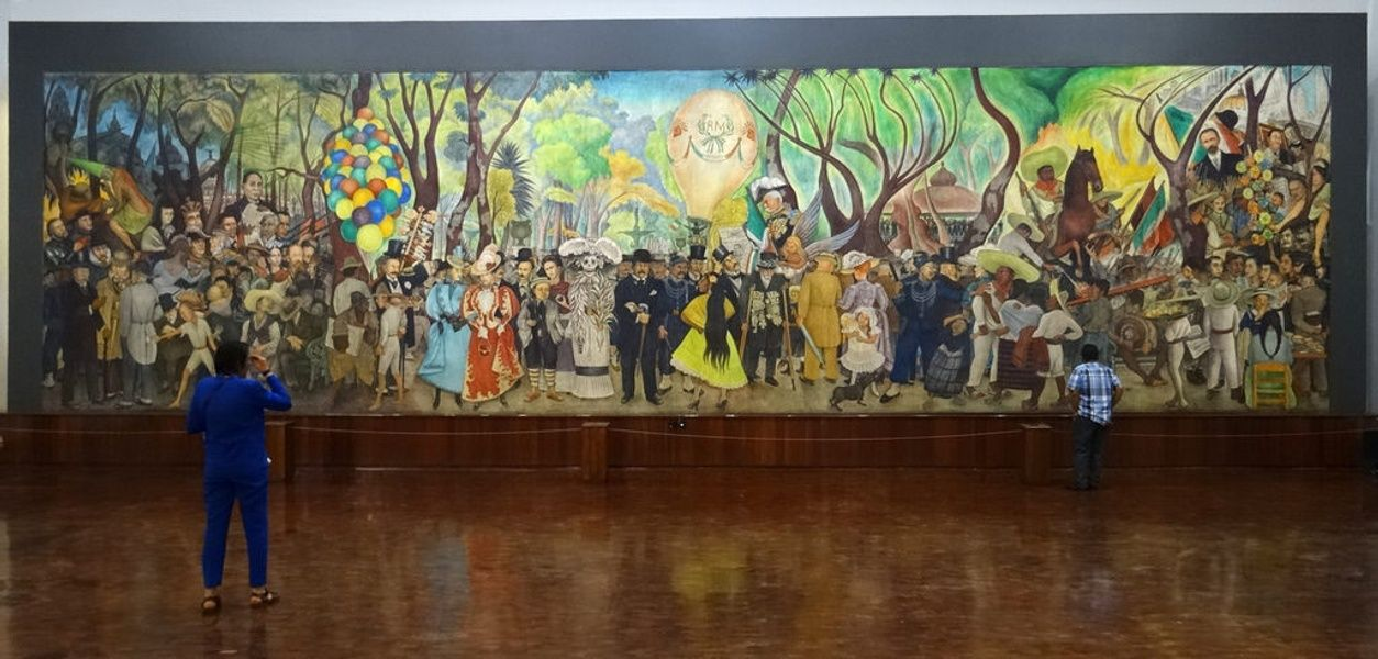 Diego Rivera murals is one of the best Mexico City attractions