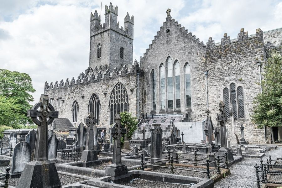 Visiting the historic St. Mary's Cathedral is an awesome thing to do in Limerick