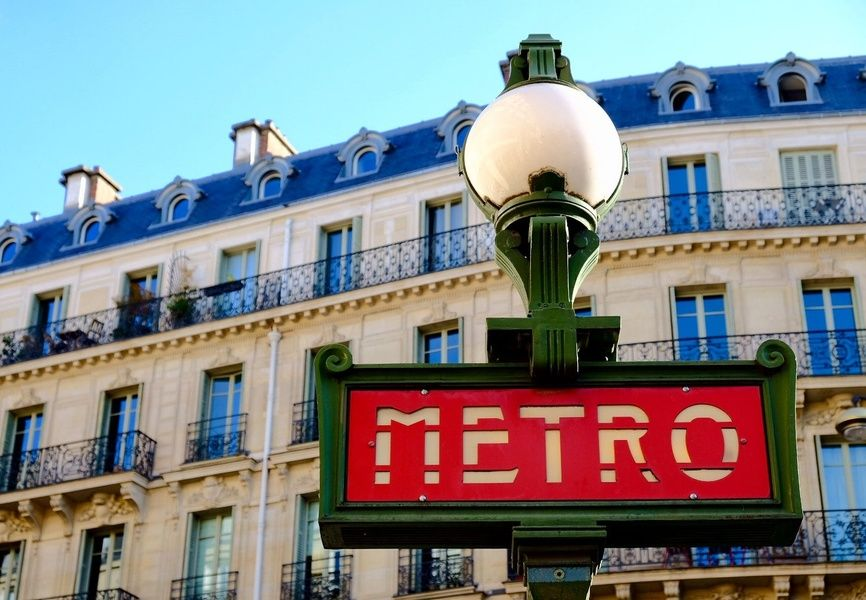 When it comes to transportation in France, the metro is a good option in most big cities