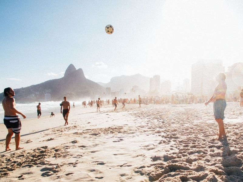Ipanema Beach is among the top places to visit in Rio de Janeiro