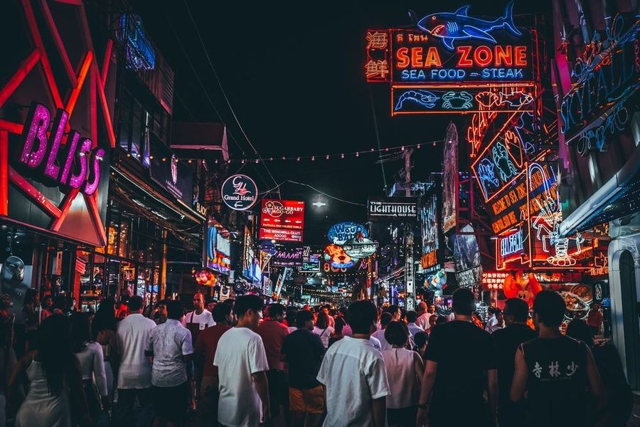 Shopping at a night market is one of the best things to do in Thailand