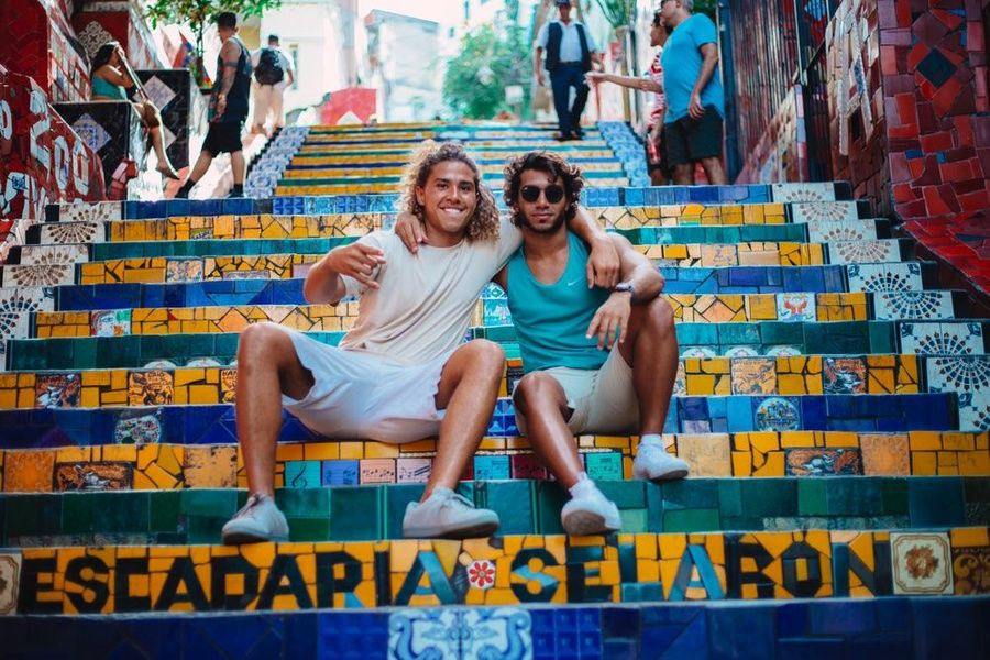The Selaron Steps are among the best places to visit in Rio de Janeiro