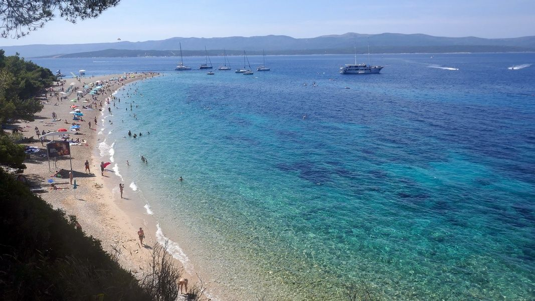 Zlatni Rat is one of the most gorgeous places to visit in Croatia