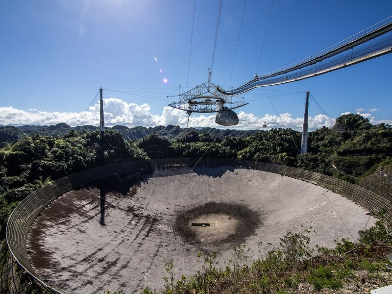 Observatorio de Arecibo is one of the Best Places to Visit in Puerto Rico