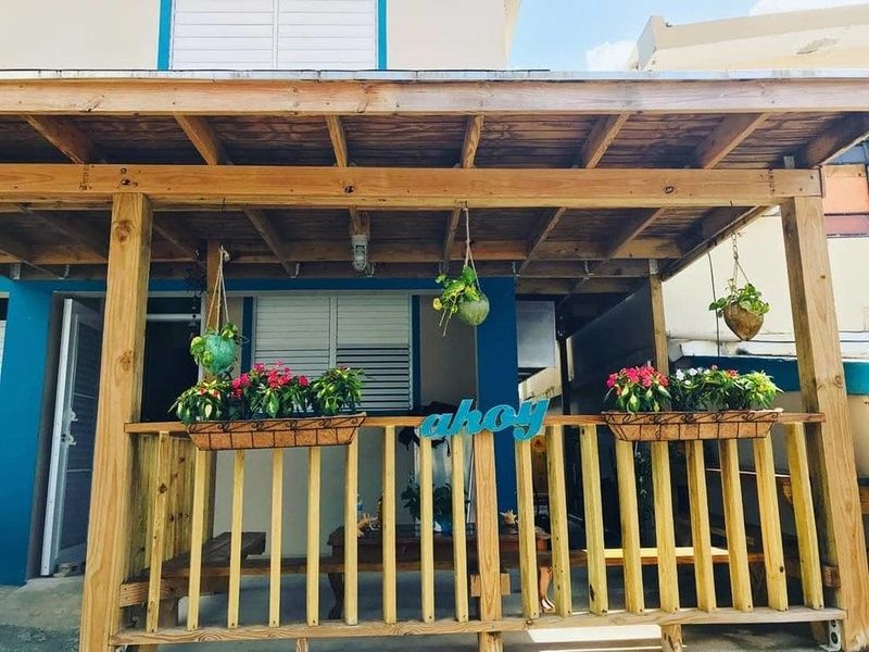 Beachside Luquillo Beach Hostel is a fun hostel in Puerto Rico