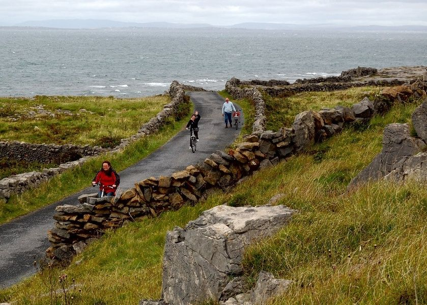 Exploring the Aran Islands is one of the best things to do in the west of Ireland