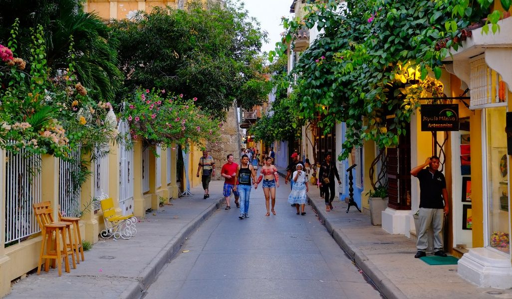 Cartagena Colombia walled city