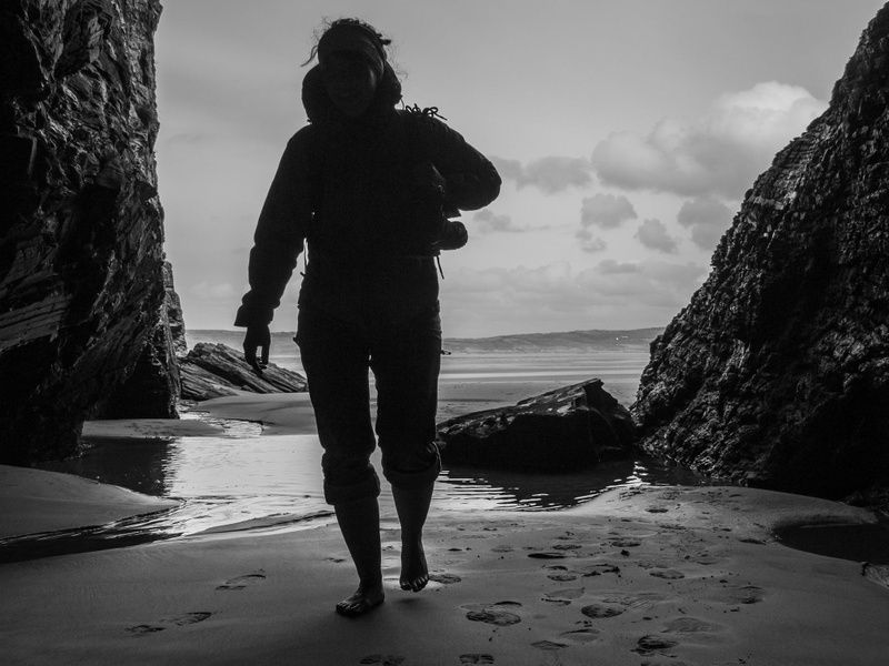 Discovering the caves at Maghera Strand is an awesome thing to do in Ireland