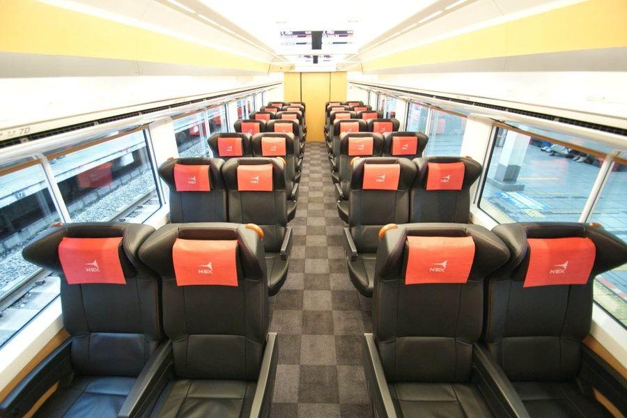 Inside rail pass Japan