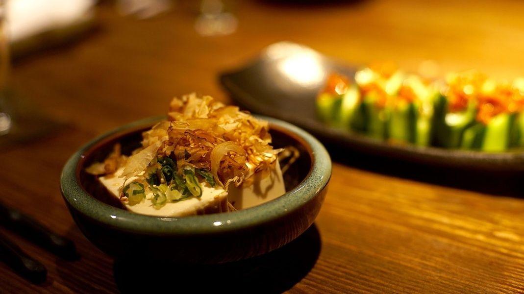 Kaiseki meal Kyoto Japan