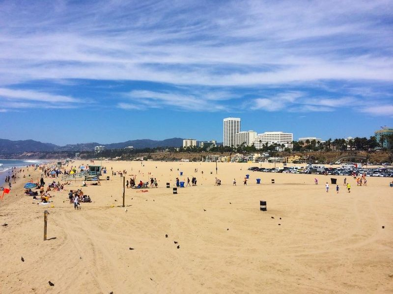 Beach Budget Travel Los Angeles
