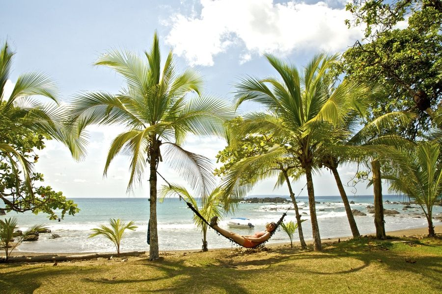Relaxing on a beach is one of the best things to do in Costa Rica