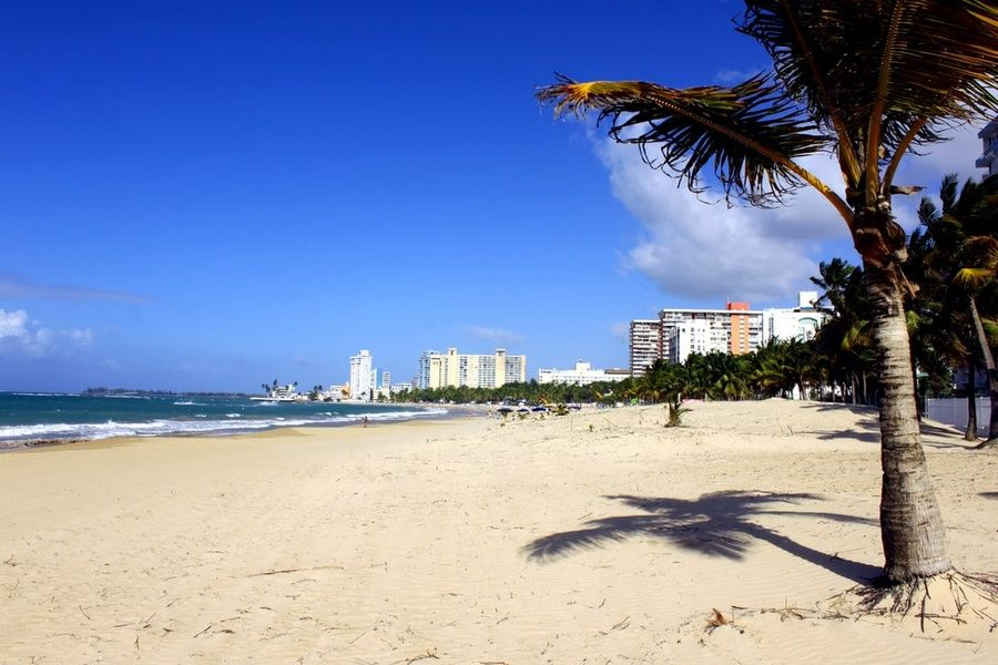 San Juan is one of many Puerto Rico beaches