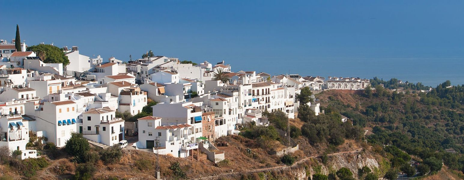 Stunning Frigiliana is one of the best places to visit in Spain