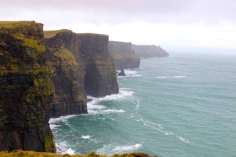 Standing on the Cliffs of Moher is an incredible thing to do in Ireland