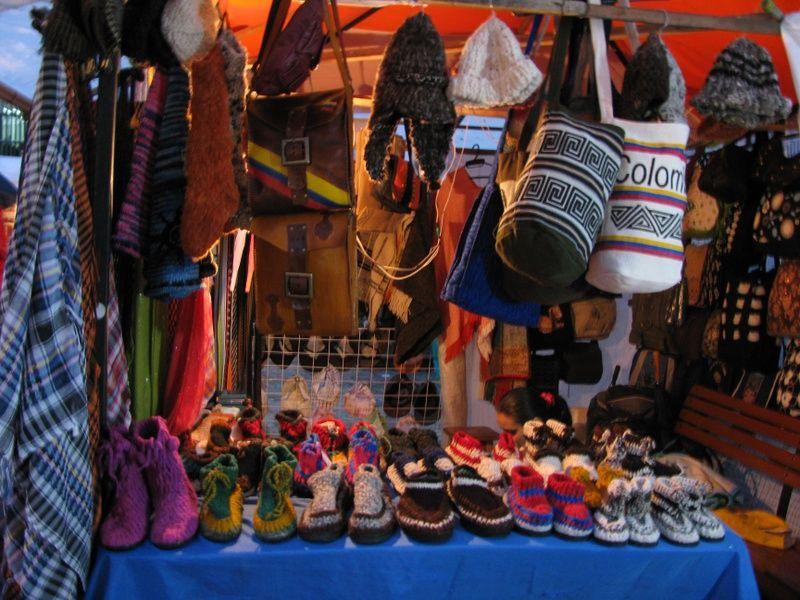 Crafts Bogota Itinerary