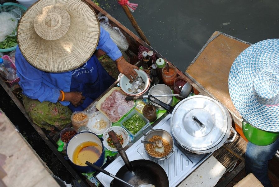 Eating street food is one of the best things to do in Thailand
