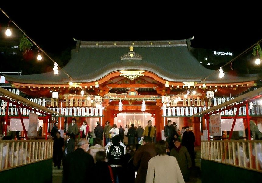 Ikuta Shrine is what to do in Kobe Japan