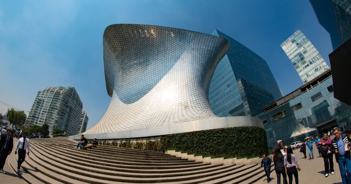 Museo Soumaya Mexico City Landmarks