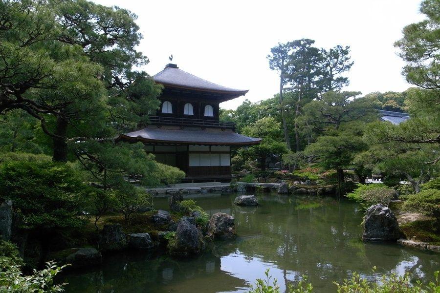 water lake Kyoto Japan