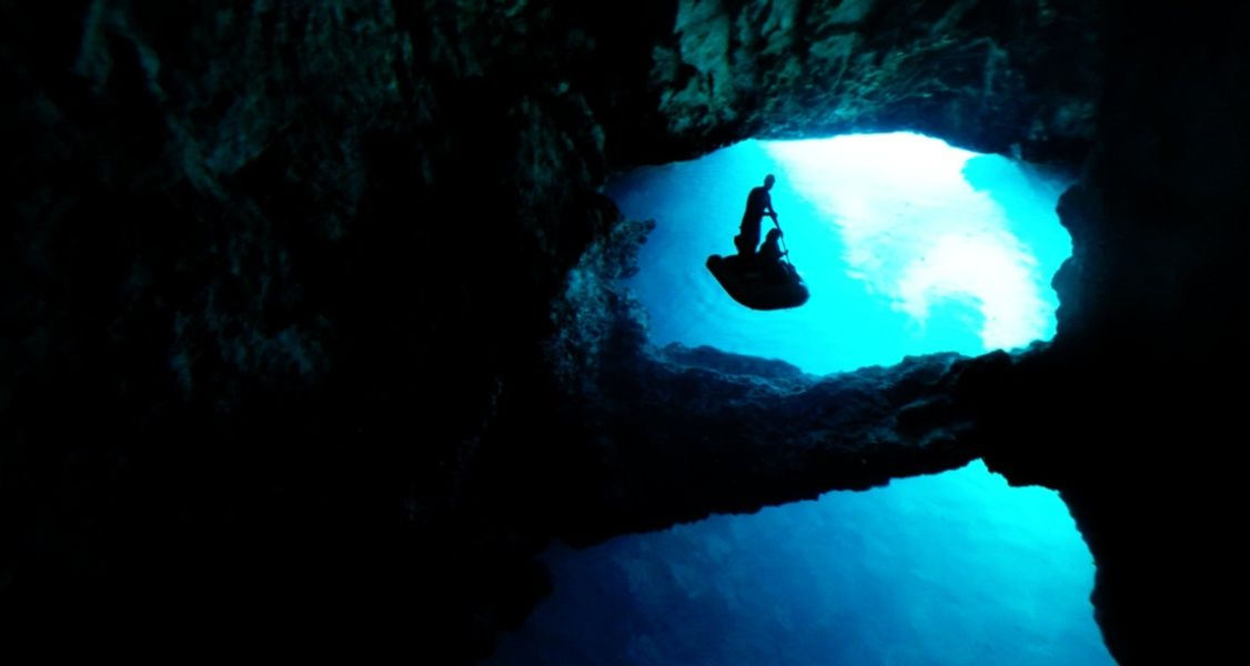 Exploring the Blue Cave of Biševo is one of the best things to do in Croatia