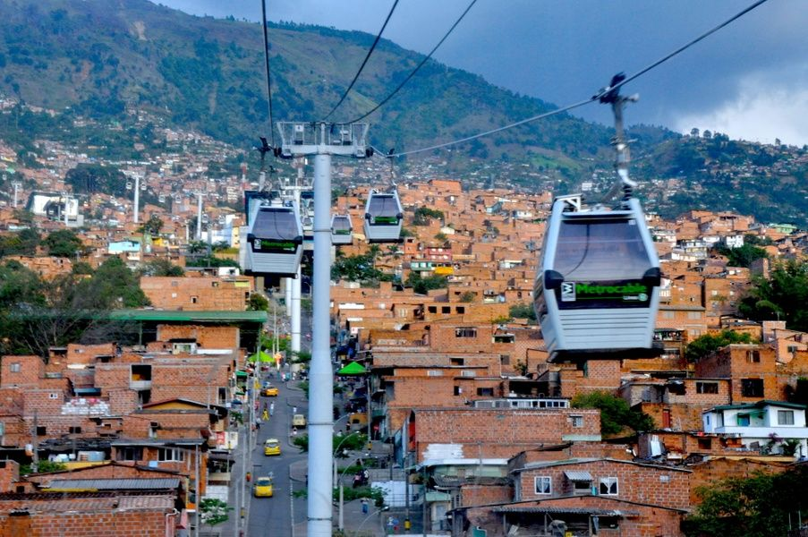 Planning transportation is important for solo travel Colombia