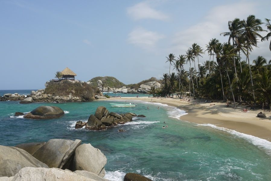 Tayrona National Park contains some of the best beaches in Colombia
